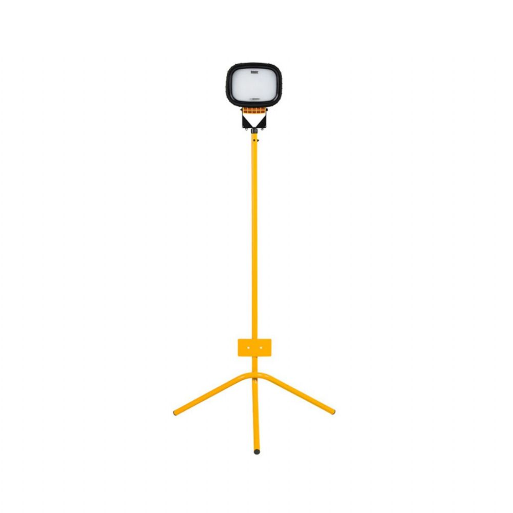Defender LED6000S E705633 Single Head Floodlight with Fixed Leg Tripod 5000 Lumens 110V~50Hz